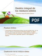 gestion residuos solidos