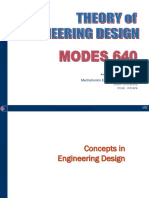 Theory of Engineering Design