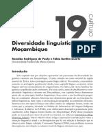 Pluridiversidade Linguistica Em Moçambique