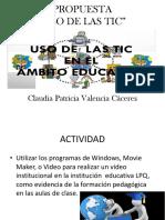 Evidencia Aplicación de Las TIC SEMANA 3