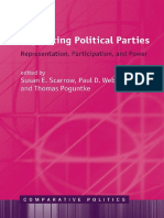 [Comparative Politics] Susan E. Scarrow, Paul D. Webb, Thomas Poguntke - Organizing Political Parties _ Representation, Participation, And Power (2017, Oxford University Press)