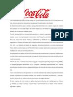 Los Consumidores en Todo El Mundo Confían en Que La Compañía Coca