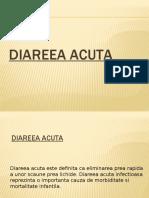 Diareea acuta