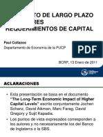 02. El Impacto de Largo Plazo de Mayores Requerimientos de Capital. P. Collazos