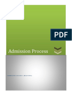Complete Admission Process