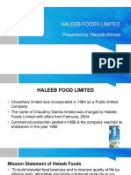Haleeb Foods Limited Presentation