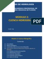 Cuencas Hidrograficas por el Ing. Vega Bueza