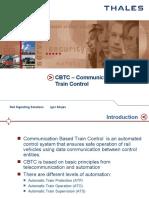 CBTC Communication Based Train Control