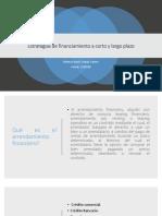 Estrategias de Financiamiento a Corto y Largo Plazo