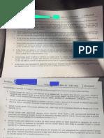 Examen SDD Subiecte 2018 - Prof Marius Popa Facultatea CSIE