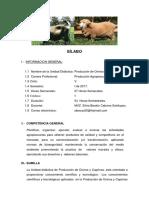 SILABUS de Produc. de Ovinos y Caprinos