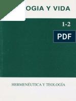 Hermenéutica y Teología - Alejandro Vigo