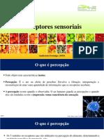 Aula - Receptores Sensoriais