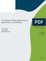 The Impact of Falling Sugar Prices on Growth and Rural Livelihoods