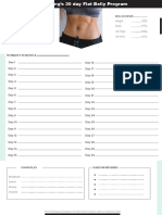 Chloe Ting Free Flat Belly Program Schedule
