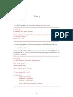 Taller básico en Python