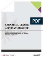 Cannabis Licensing Guide