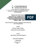 Chavarry Rojas - Quicio Rivas Tesis Incremento en La Recaudacion de Ingresos