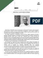 Emílio Peres - o Pai Da Nutrição Em Portugal