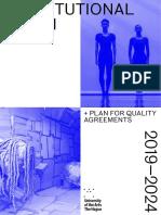 HdK Institutional Plan 2019-2024
