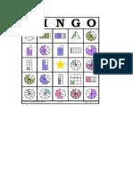 Fracciones Bingo