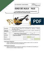 MYEM - LAB 13 - Costos de Elementos de Desgaste Especial, Reserva Para Reparaciones y Salario Del Operador - 4C11