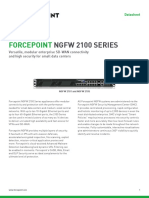Datasheet Forcepoint Ngfw 2101
