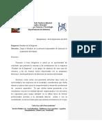Carta Para Las Empresas