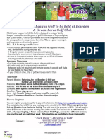 2019 Junior League Flyer