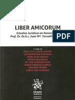 "LH Terradillos Basoco 2018 ""Liber Amicorum. Estudios Jurídicos en Homenaje Al Prof. Dr. Dr.h.c. Juan Mª. Terradillos Basoco""."