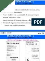 Ditadura Militar - História do Brasil