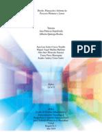 Planeación Diseño y Informe de Ejecución Fase..