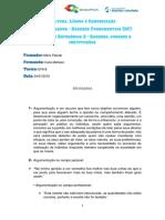 CLC Texto Argumentativo e Argumentação
