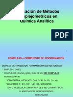 9 Volumetría Por Formación de Complejo