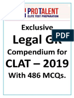 Protalent Legal GK Update