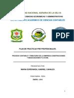 Plan de Practicas Constructora Maria Canales
