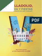 Fiestas Valladolid 2018