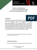 Realización Del III Festival de Teatro Brújulas - Copia