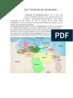 División Político Territorial de Venezuela