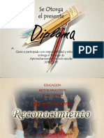 Diplomas Aprovechamiento