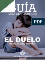 Guia Para Educadores El Duelo en El Ambito Escolar