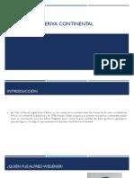 Teoría de La Deriva Continental Oficial
