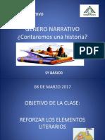 GENERO NARRATIVO 5° 2019