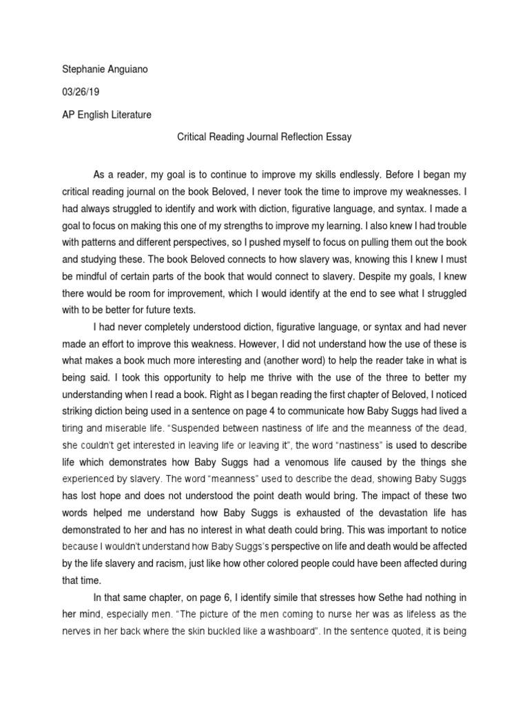 Animism and the alphabet essay