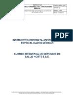 Este es el manual que explica cómo un médico general atiende consultas de especialistas en la red pública de salud en Bogotá