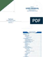 User manual - Samxic Monitor