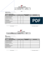 Check List Pre Uso Compresor de Aire 2