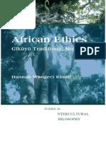 African Ethics Gikuyu Traditional Morality[1] — Kopia — Kopia