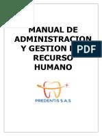 Manual de Administracion y Gestion Del Recurso Humano