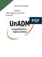 Investigación Documental y Decampo (ANEMIA EN EL EMBARAZO)